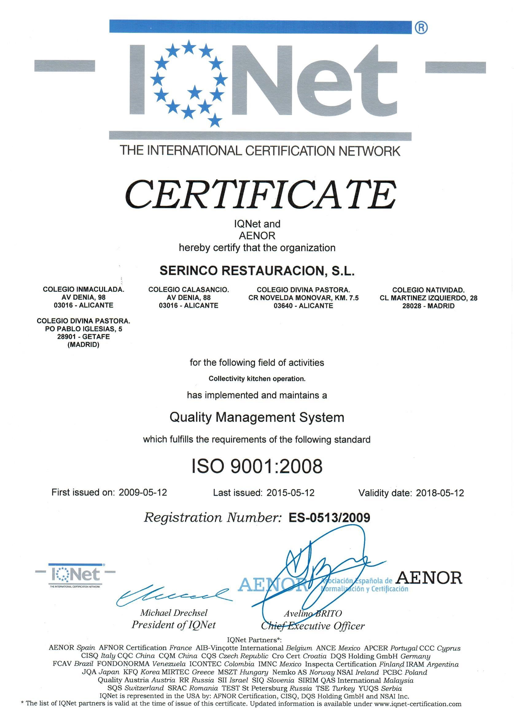 SERINCO RESTAURACION: catering de calidad especializado en comedores ...